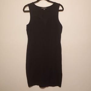 2/$20 forever 21 plus black tight dress